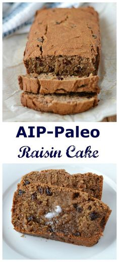 Raisin Cake (AIP/Paleo/Refined Sugar-Free) | Lichen Paleo, Loving AIP