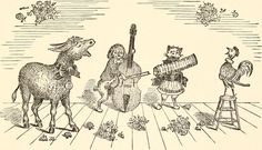 Escuchar un cuento: Los músicos de Brema - Hermanos Grimm - Te cuenta: Silvia Refatti - 1º Año 2ª división Profesorado Educación Primaria