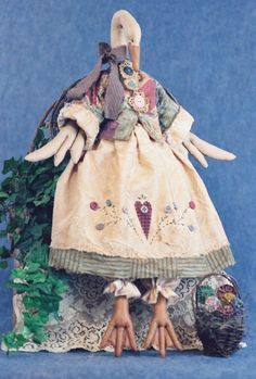 Mailed Cloth Doll Pattern  26in Country Goose by FruitfullHands