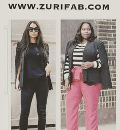 The Caped Blazer can be worn with a tee and jeans for a more relaxed but polished look or dress it up with a pair of pants and a printed top. Get your blazer at WWW.ZURIFAB.COM.    #shop #shoponline #onlineshopping #chic #CUTE #CURVY #CURVYGIRL #SEXY #slay #style #STYLISH #STYLEBLOGGER #FALL #fashion #FASHIONSTYLE #fashionblogger #OOTD #POTD #LOTD #PLUSSIZE #ownit #FIERCE #rave #BEAUTIFUL #FABULOUS #ZURIFAB