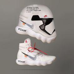 """Mi piace"": 35.9 mila, commenti: 322 - NBA Kicks On Court (@nbaoncourt) su Instagram: ""Dope or Nope?  Off White x Nike Hyperdunk, Art by @cole"""