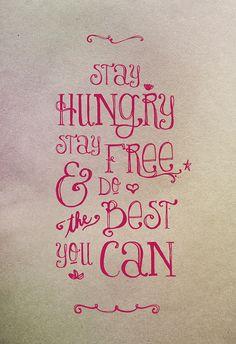 --GASLIGHT ANTHEM     Stayhungry.jpg (554×809)
