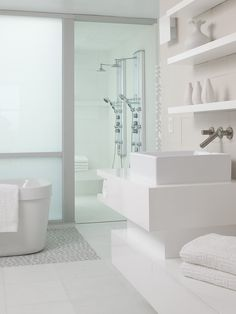 77 Best White Bathrooms Images Home Decor White Bathroom