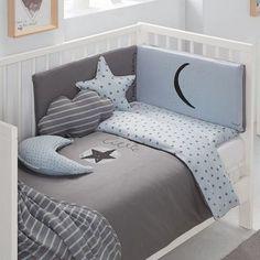 Babyclic Little Star Blue Kinderbettbezug