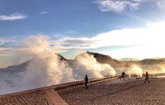 Peine del viento...el mar se enfurece....