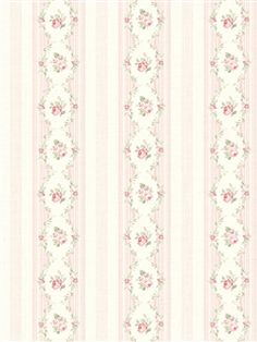 522-30501 - Wallpaper | Springtime Cottage | AmericanBlinds.com