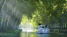 #40 ~ Rent a boat and traverse the Canal du Midi, France
