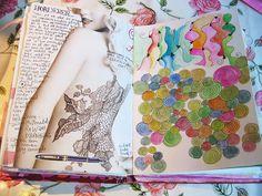 Art journal doodles. By iHanna a.k.a. Hanna Andersson