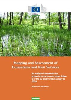 Mapping and Assessment of Ecosystems and their Services 24.04.2013 IES - Institute for Environment and Sustainability - News