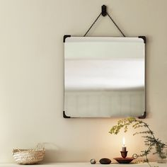 A good looking glass should act as a mirror in more than one way. And this classic square design, available in three refined finishes, reflects both interior and exterior sophistication. Interior And Exterior, Bathroom Collections, Hallway Decorating, Interior, Hallway Mirror, Classic Mirror, Elegant Bathroom, Hanging Mirror, Mirror
