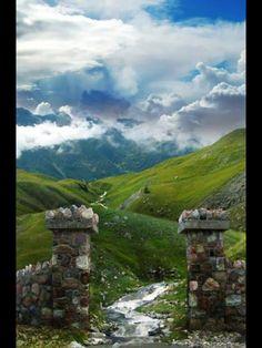 Doorway to Scotland, Earth Porn