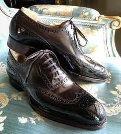 British Style — bluscuro:   Longwing Brogue Mod 105 on Classic...