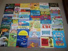 100 SCHOLASTIC Children's Picture Books~Teacher's Classroom Lot~PreK 1st 2nd