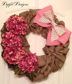 Valentine Burlap Wreath by DopfelDesigns. Valentine Day Boxes, Valentines Day Decorations, Valentine Ideas, Valentine Crafts, Holiday Decorations, Holiday Ideas, Spring Wreaths, Easter Wreaths, Holiday Wreaths