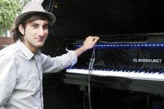 Davide Martello, gira il mondo da 3 anni suonando un pianoforte a coda » Viaggiare da Soli