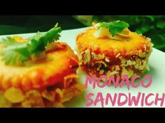 Monaco Biscuit Recipe   Monaco Biscuit Toppings   Party Starter Dish   Biscuit Sandwich   Canopy   - YouTube