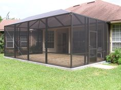 Portable Patio Screen Enclosure Modern Patio & Outdoor-of-Screened Pool Patio Ideas Screen Porch Panels, Screen Porch Systems, Screen Porch Kits, Screen House, Screen Tent, Screen Doors, Patio Screen Enclosure, Porch Enclosures, Screen Enclosures