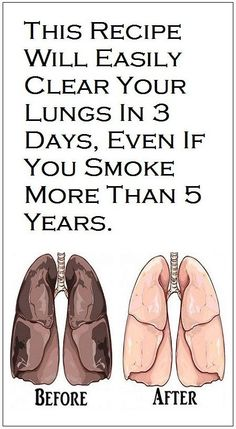 This Recipe Will Easily Clear Your Lungs in 3 Days, Even If You Smoke More Than 5 Years! – 18aims