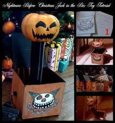 DIY Nightmare Before Christmas Halloween Props: Nightmare Before ...