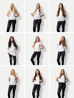 I GYMMEN, men av og til også i skolegården, er det avanserte kompresjonstights som gjelder. Håret skal være langt, men det meldes, fra skolegårdene, om at noen «har begynt å klippe seg». 1. Maya Bratland (15), Nittedal ungdomsskole ◆ 2. Hanna Sand (15), Nittedal ungdomsskole ◆ 3. Mari Elisabeth Hobrad (15), Rothaugen skole ◆ 4. Israh Waseem (13), Stasjonsfjellet skole ◆ 5. Elise W. Hansen (14), Stasjonsfjellet skole ◆ 6. Marie Tungesvik (15), Rothaugen skole ◆ 7. Mathilde Sletner (14)…