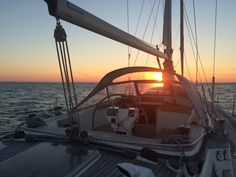 Sunrise (Biscay bay crossing)