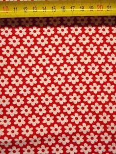 BB bloemetjes rood met wit