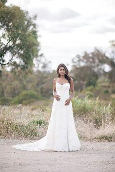 My wedding dress. Photographer Simon Deadman