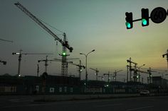 Olympic Green lights by Luo Shaoyang, via Flickr