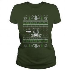 Disc Golf Ugly Christmas - #pullover #silk shirts. GET YOURS => https://www.sunfrog.com/Holidays/Disc-Golf-Ugly-Christmas-Forest-Ladies.html?60505