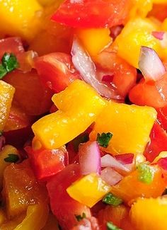 Peach Salsa Recipe! Yummy
