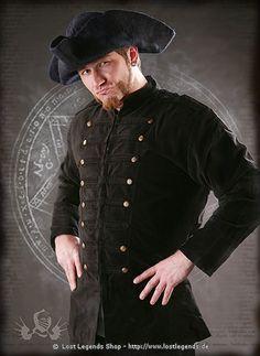 Larp Uniformjacke Samt Don Juan?