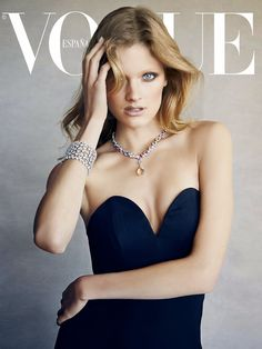 Constance Jablonski by Patrick Demarchelier for Vogue Spain July 2014