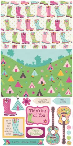 Can't make it to Glastonbury? You can still feel like you're at a festival with these free digital papers!