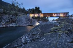 Bridge in Norway: Høse Bridge / Rintala Eggertsson Architects
