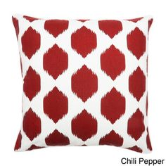 @Overstock.com - Isabella Ikat 20x20-inch Pillow - Create a stylish and comfortable look in any room when you add this decorative throw pillow to your decor. Available in several bold colors, the vibrant pattern helps to tie together your room.   http://www.overstock.com/Home-Garden/Isabella-Ikat-20x20-inch-Pillow/7649898/product.html?CID=214117 $25.99.  #ClubOVIPlounge  #overstock.com