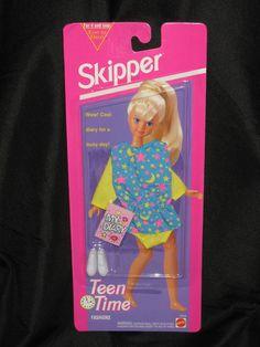 1993 Skipper - Teen Time Fashions #