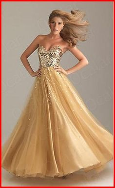 YZ Strapless Cocktail Ball Party Long Dresses