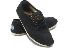 Black Canvas Women's Cordones hero