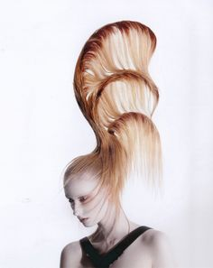 The 2012 Winner and Visionary Award Finalists from London's Alternative Hair Show. #hair #beauty