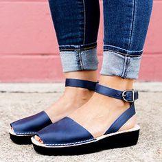 Womens Daily Sport Colorful Casual Sandals - Sandals Shoes - Ideas of Sandals Shoes - LabelSize USSize UK AU EU Length Length inch cm 35 4 36 36 6 4 23 37 38 6 38 24 39 8 6 40 7 39 25 41 9 7 10 42 40 26 43 9 Gender: Women Upper Material Lace Up Espadrilles, Lace Up Sandals, Open Toe Sandals, Women Sandals, Shoes Women, Flat Sandals, Sport, Chunky Heel Pumps, Flip Flop Shoes