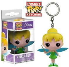 Tinkerbell Pocket Pop keychain by Funko