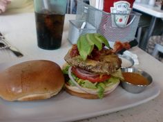 Make your own burger at the Counter!