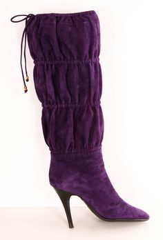 Robert Cavalli Boots in Purple <3