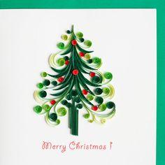 Arbre de Noël HD602 6 x 6 par QuillingCard sur Etsy