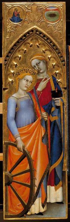 """Giovanni da Milano     """" Polittico di Ognissanti""""  (aprox.1360)"""