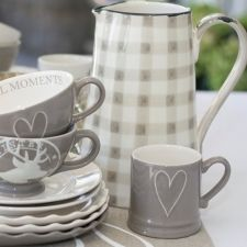 All about kitchen. Lovely plates, mugs and cups. bastion collections