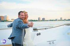 Don't let your photographer miss this shot at your yacht wedding!   Photo: @bigcanuk