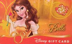 Disney Belle gift card