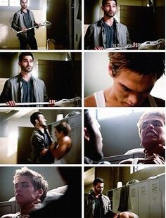 Tyler Hoechlin (Derek Hale) & Dylan Sprayberry (Liam Dunbar) - Teen Wolf