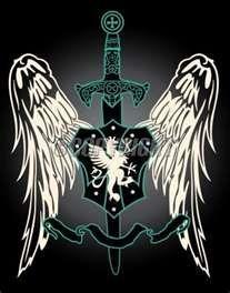 Heraldic Swords Tattoo